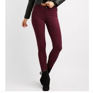 Forever 21 stretch mid rise pants